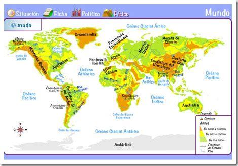 cadenas orograficas principales de mexico milagrotic c medio 6 186 la tierra y los mapas