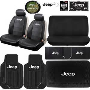 Jeep Floor Mats And Seat Covers Jeep Mopar Elite Sideless Seat Covers Rubber Floor Mats