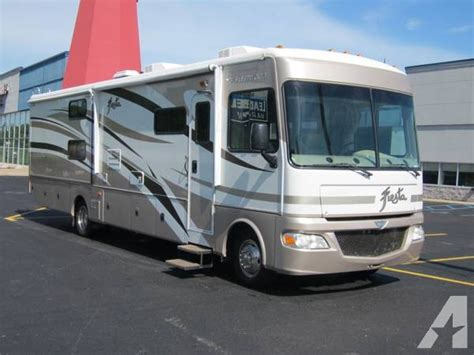 rv motorhome for rent rental fleetwood 34b for
