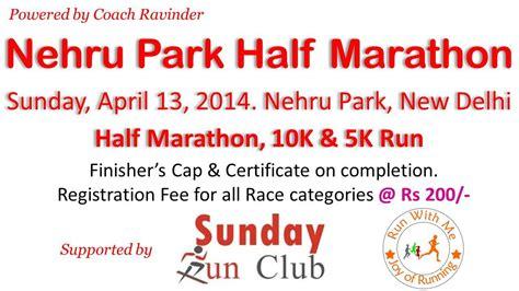 hydration 10k race book nehru park half marathon tickets new delhi explara