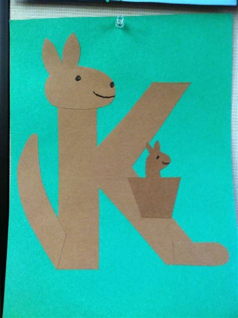 How To Make A Kangaroo Out Of Paper - k is for kangaroo storytime books songs rhymes and