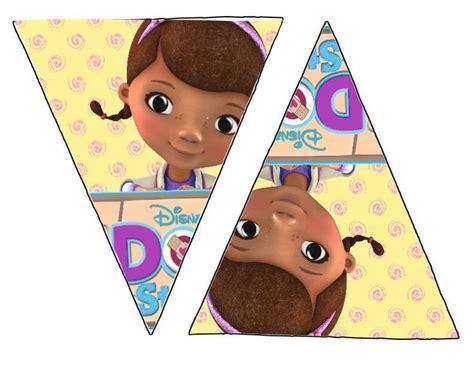 doc mcstuffins free printable birthday banner 142 best images about doc mcstuffins printable party