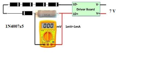 laser diode max current laser diode m140 current driver electrical engineering stack exchange