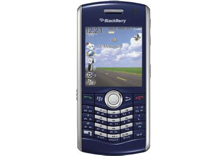 Blackberry 8110 Pearl Full Phone Specifications Manual