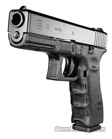 glock m 22 40s&w *must call* for sale