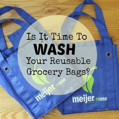 is it bad to bathe your every week is it time to wash your reusable grocery bags