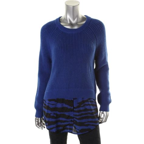 Knit 2in by Michael Michael Kors 4497 Womens Knit 2 In 1 Pullover