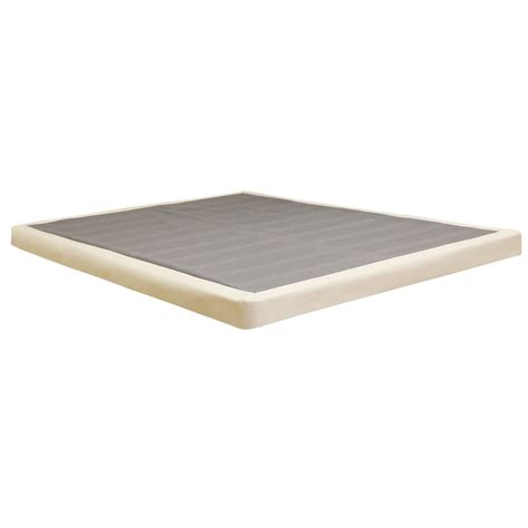 low profile bed foundation low profile box spring 4 quot inch lifetime warranty heavy