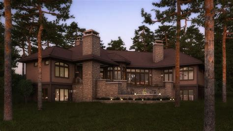 houses in the woods cgarchitect professional 3d architectural visualization user community house in