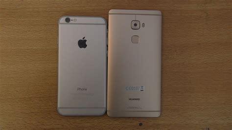 iphone v huawei huawei mate s vs iphone 6 speed test