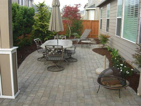 pavers for a patio paver patios design installation vancouver wa
