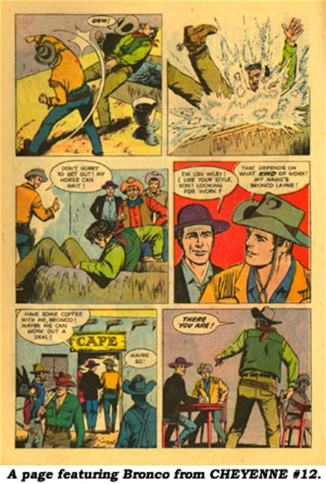 a cowboy s courage mcgavin brothers books cheyenne comic book cowboys by boyd magers