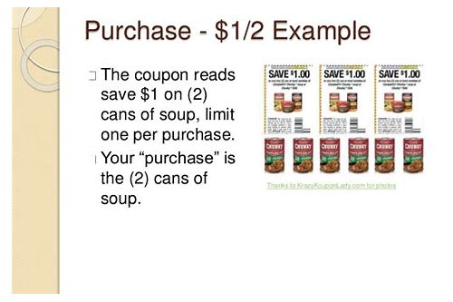 what does limit one coupon per item purchased
