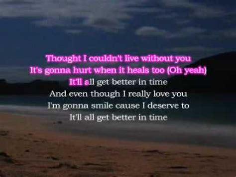 better in time leona lewis lyrics leona lewis better in time karaoke with lyrics