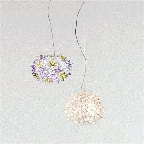 kartell bloom applique kartell bloom s2 suspension