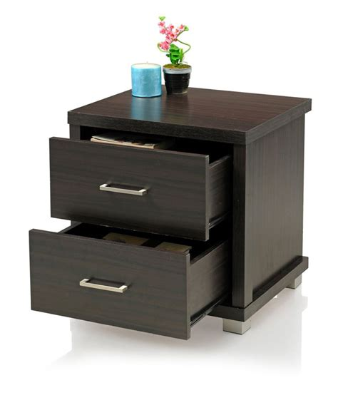 Bedside Table With Drawers Bedside Table With 2 Drawers And Finish Buy At Best Price In India On Snapdeal