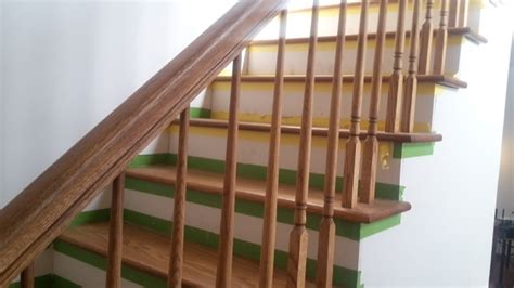 stair banister height stair handrail height interior railing code standard