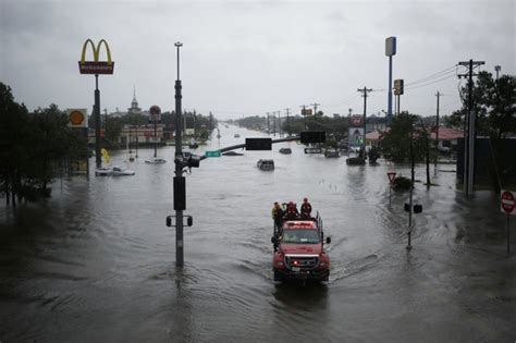Harvey?s Rains and Flooding Threaten East Texas, Louisiana