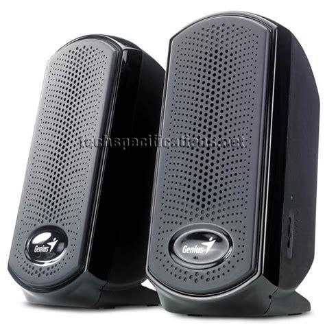 Speaker Komputer Genius Genius Sp U110 2 0 Pc Speaker Tech Specs