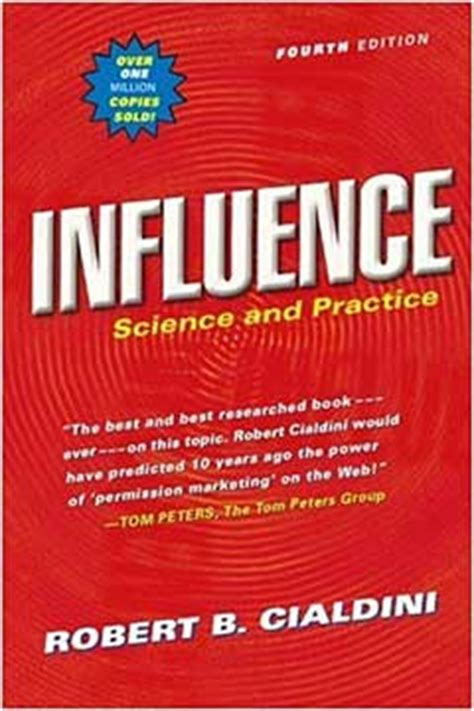 best books on influence and persuasion influence science and practice book review the