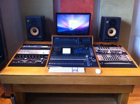 Recording Studio Workstation Pro Construction Forum Be Recording Studio Desk