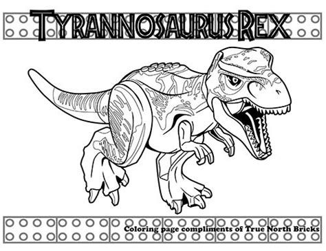 jurassic world lego coloring coloring pages lego