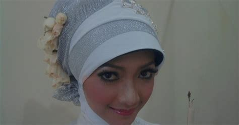 tutorial jilbab pengantin sederhana inspirasi kreasi hijab pengantin sederhana