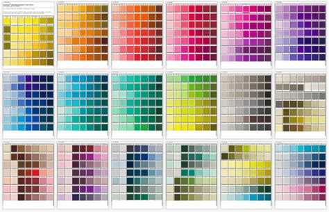 general color chart template general color chart 5 plus printable charts for word and pdf