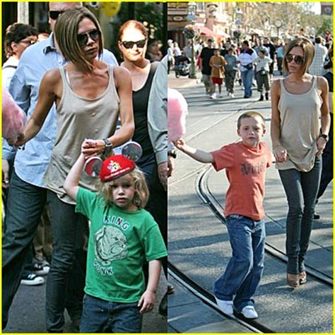 Paparazzi Make Romeo Beckham Cry At Disneyland vix gets tix to disneyland beckham