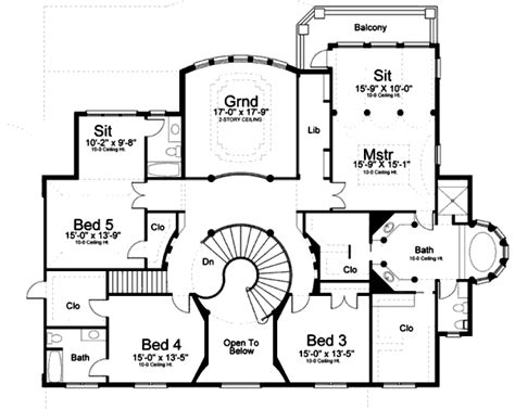 blueprints house house 31477 blueprint details floor plans