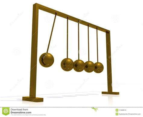 swinging balls on desk swinging stock images image 11908974