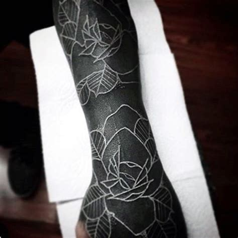 white ink rose tattoo 100 white ink tattoos for cool colorless design ideas