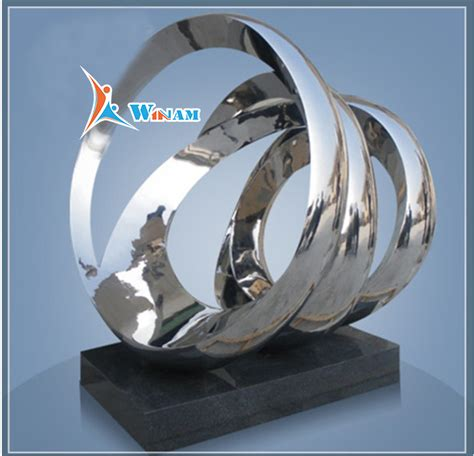stainless sculpture modern abstract home decoration public modern home decoration sculpture stainless steel arts and