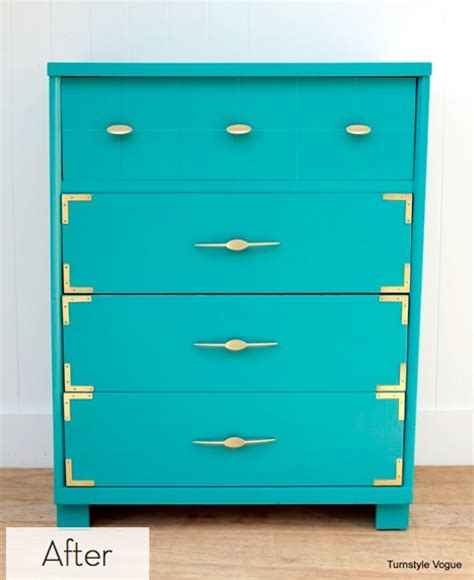 Colorful Dressers by Before And After Colorful Painted Dresser Set Decora