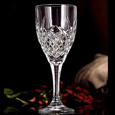 godinger barware godinger dublin crystal tumblers goblets wine water juice glasses set