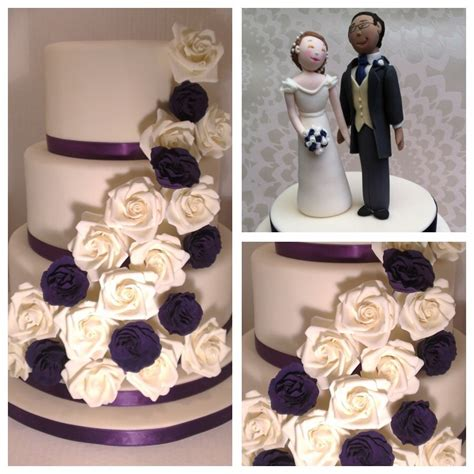 Cadbury Purple Get It Before They Sue You by 3 Tier Wedding Cake In And Cadbury Purple The