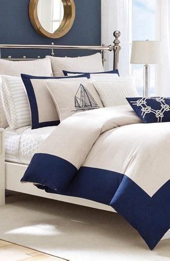 love  nautical themed bedroom  bedspread