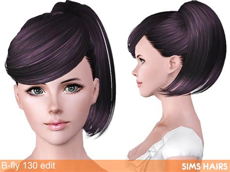 fly sims 121 af hairstyle retextured by sims hairs for sims 3 b fly sims 130 af hairstyle retexture by sims hairs