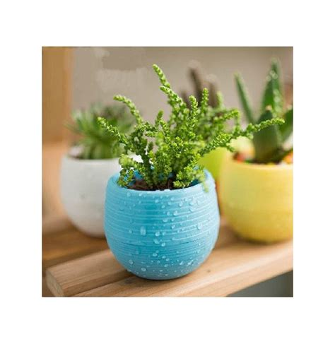 Cute Flower Pots Honana Hg Gp2 Colorful Cute Plant Flower Pot Mini Plastic