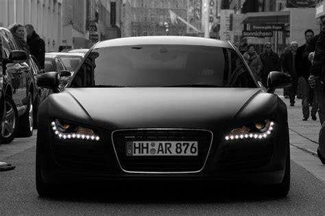 Audi R8 Schwarz Matt by Audi R8 Matte Black