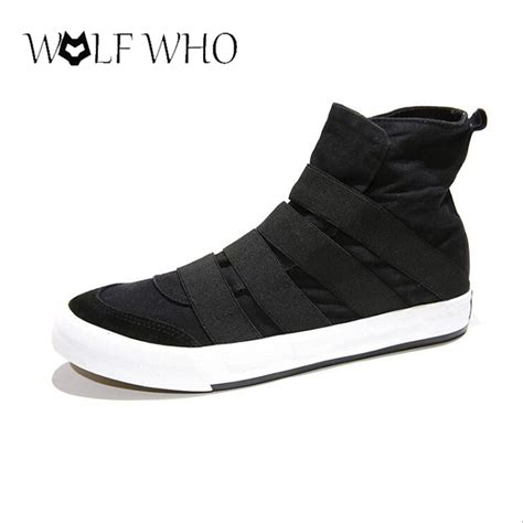 flat shoes poxing slip on wolfwho new high top shoes flats slip on casual shoes