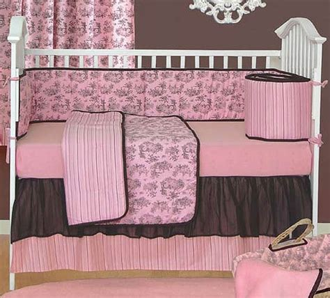 Pink Toile Crib Bedding Sleeping Partners Toile Crib Bedding Collection Free Shipping