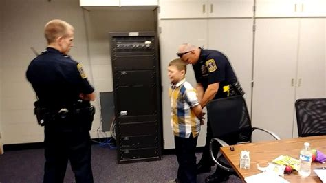 you are arrest why 9 year boy with autism got arrested at school