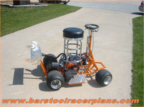 Bar Stool Go Kart Plans by Cool Plans That Show You How To Build A Bar Stool Racer Http Www V