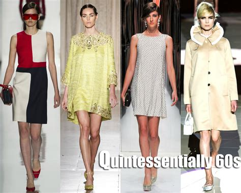 ées 60 Style by 2013 New York Fashion Week Quintessential 60s