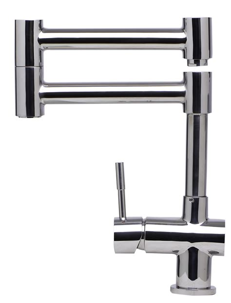 retractable kitchen faucet alfi brand ab2038 pss modern solid stainless steel retractable kitchen faucet polished stainless