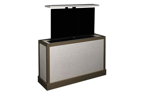 bed stand end of bed tv lift aqualina end of bed tv stand