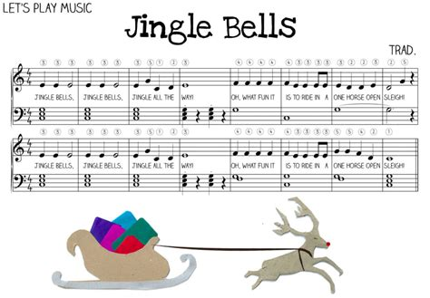 tutorial piano jingle bells 1000 images about sheet music on pinterest