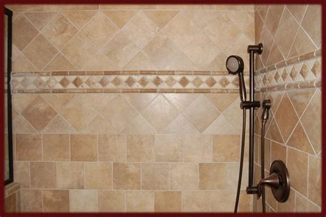 bathroom tile border ideas pin by teresa horton on for the home pinterest