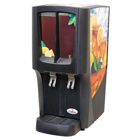 Juice Dispenser Crathco Grindmaster Cecilware C 2s 16 2 2 4 Gal Capacity Crathco Mini Duo Cold Beverage Dispenser